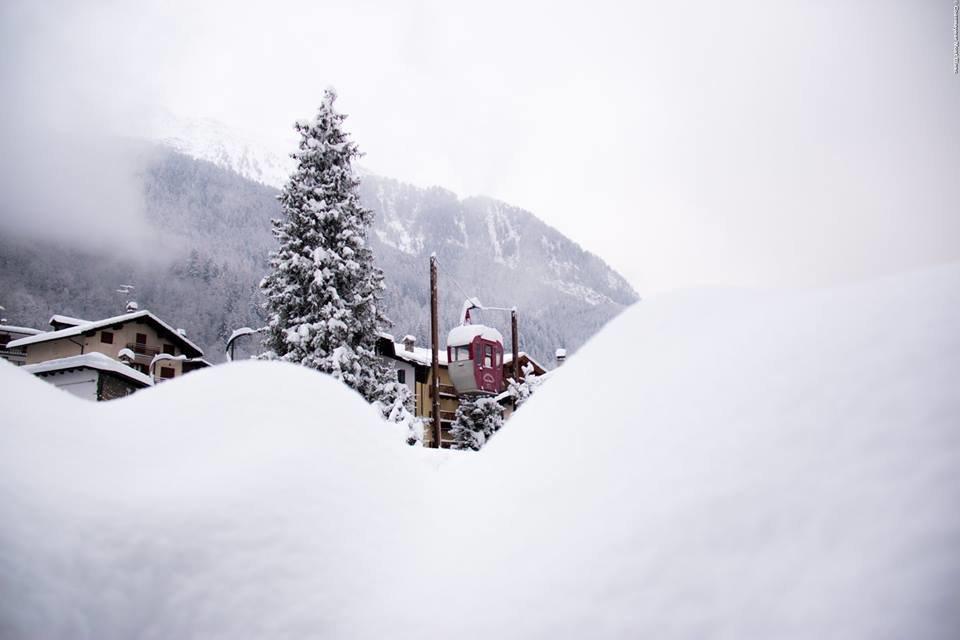 Courmayeur 04.01.2016 - © Courmayeur Mont Blanc Facebook