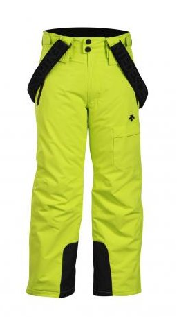 Descente Ryder Pant: $145 The Ryder pant comes complete with removable suspenders, an adjustable waist and full side zip. Coupled with Descente's Heatflex insulation for all day warmth.