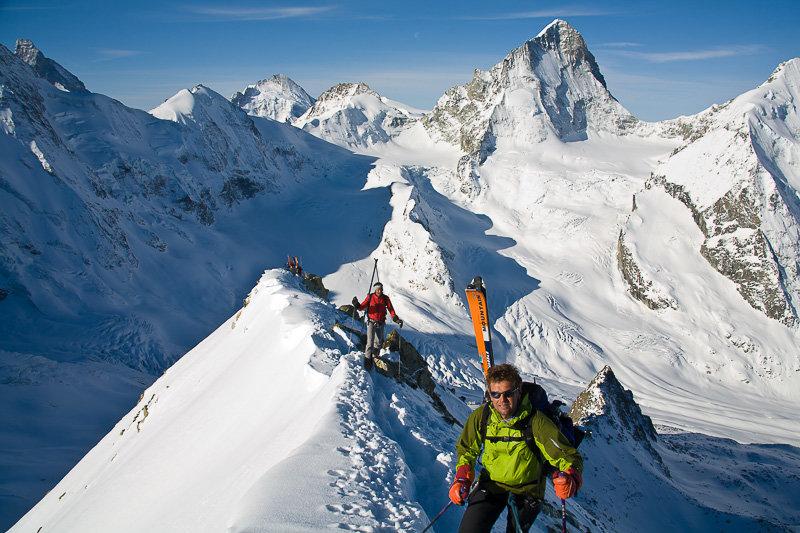 Gratkletterei zum Gipfel - © Iris Kuerschner, www.powerpress.ch