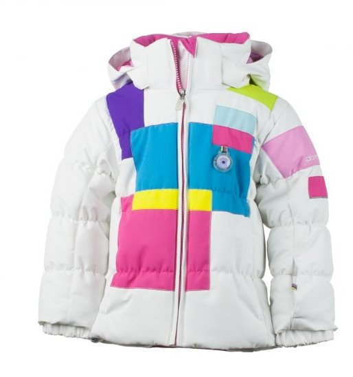 Obermeyer Kitt Jacket: $134.50 The Kitt is perfect for that little someone who doesn't mind being the center of attention. Fleece lined touch points and body mapped insulation work in conjunction with I-Grow technology to extend the Kitt's lifespan to at least two seasons on the mountain.