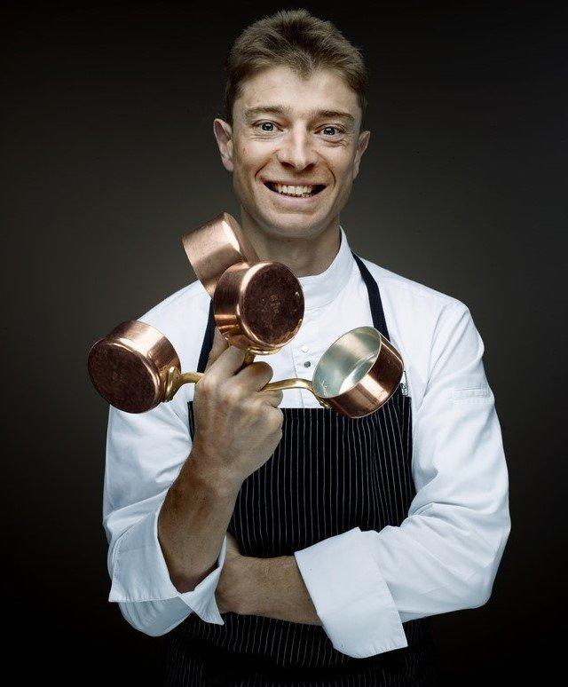 Jean Sulpice, chef doublement étoilé au Guide Michelin, référence de la cuisine gastronomique d'altitude - © © Denis Rouvre