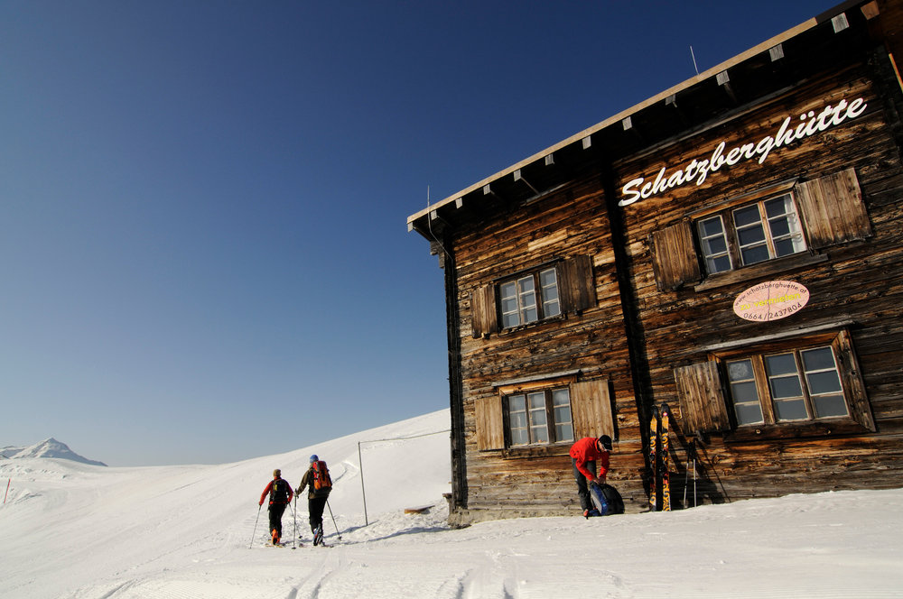 Schatzberghütte: Skitour auf den Joel und Lämpersberg in Wildschönau, Tirol - © Nobert Eisele-Hein