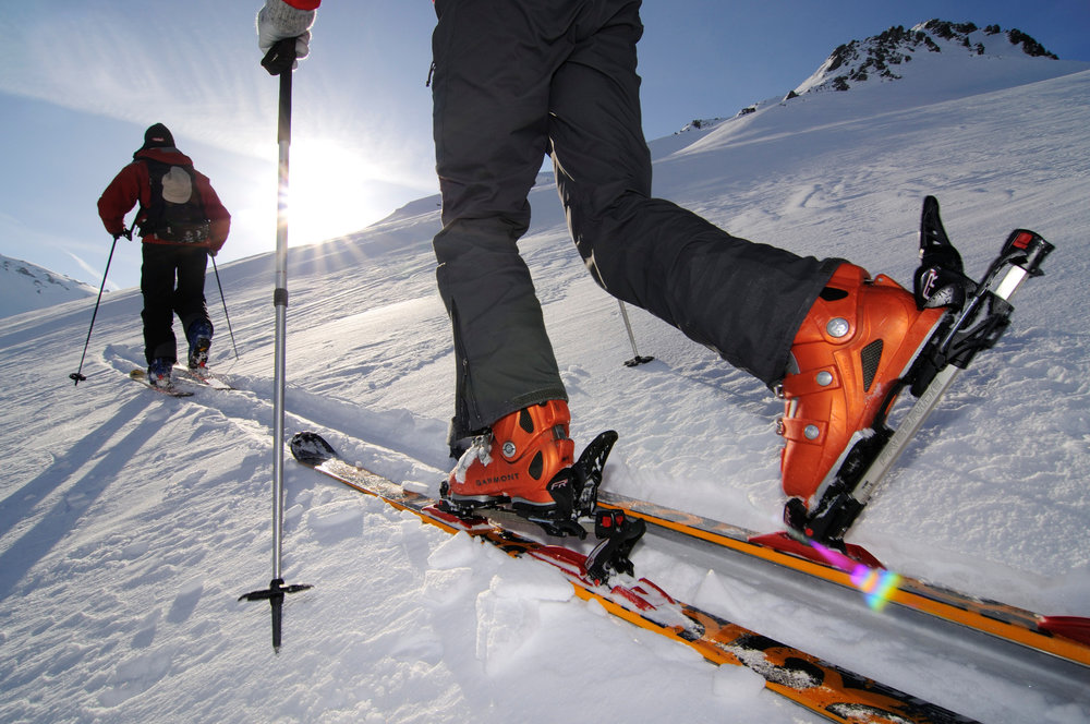 Skitourengeher in den Kitzbüheler Alpen - © Norbert Eisele-Hein