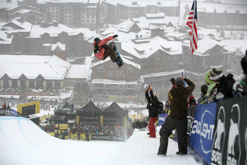 Steve Fisher at Copper, CO US Snowboarding Grand Prix .