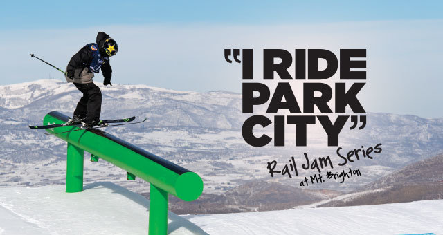 """I Ride Park City"" Rail Jam this Friday! - © this Friday at Mt.Brighton"