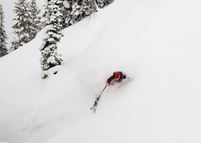Jackson Hole powder. - © Jackson Hole Mountain Resort