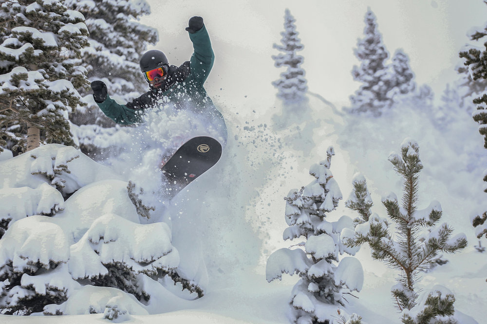Mining the goods at Copper Mountain - © Tripp Fay
