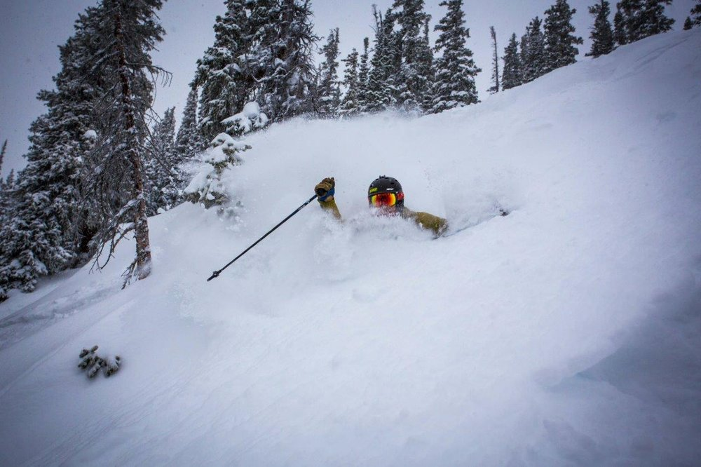 Buried alive at Crested Butte - © Chris Segal