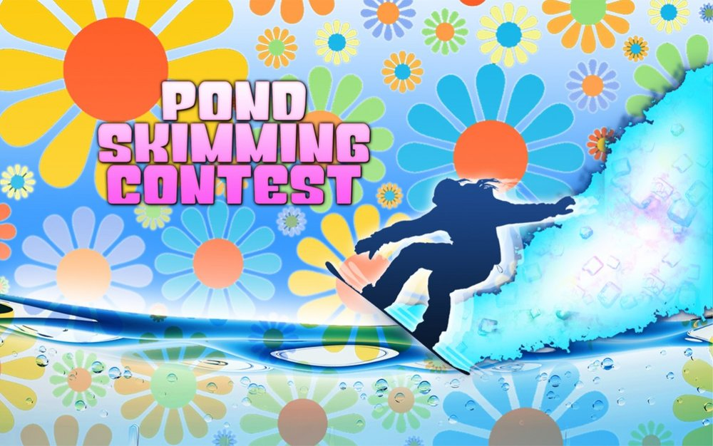 Join us Sunday, April 2! - © Skim across Gore's huge pond in our annual spring classic!