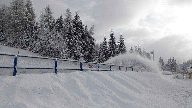 Fresh snow in PARK SNOW Donovaly, 11.2.2016 - © PARK SNOW Donovaly