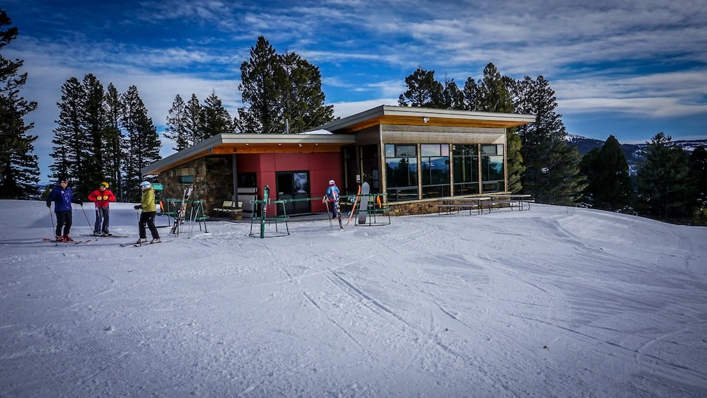 Bridger's new Alpine Cabin was made possible by donations from community members. - © Eric Slayman