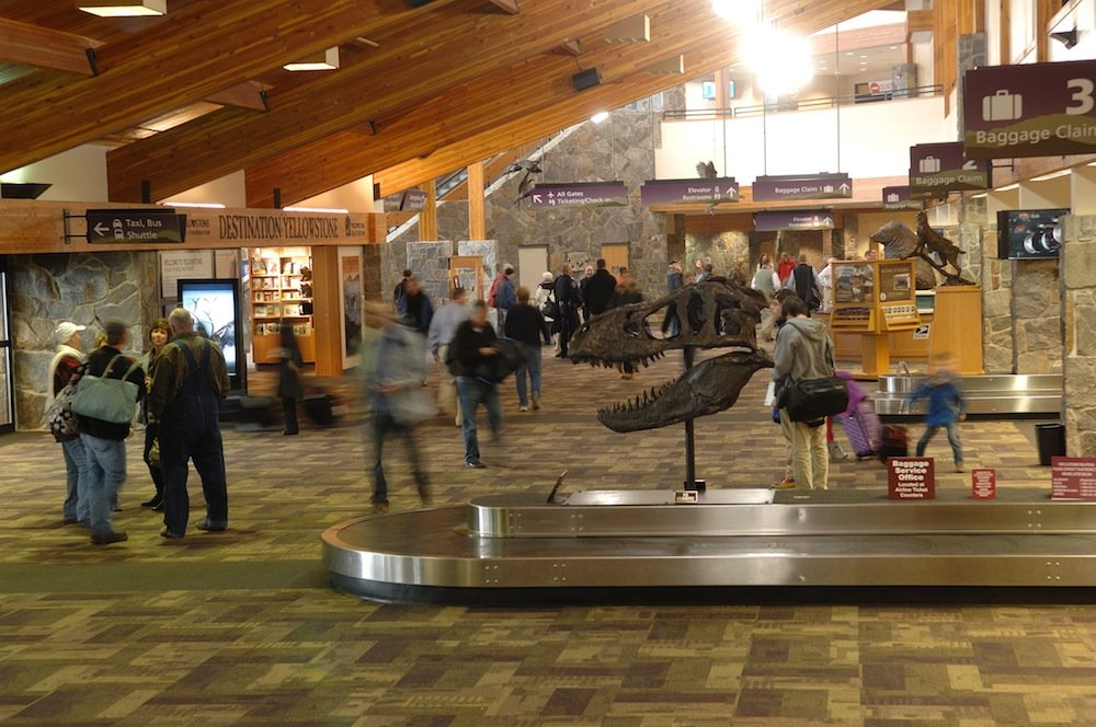 Bozeman Yellowstone International Airport (BZN), located just 10 miles from downtown.  - © Bozeman Yellowstone Int'l Airport