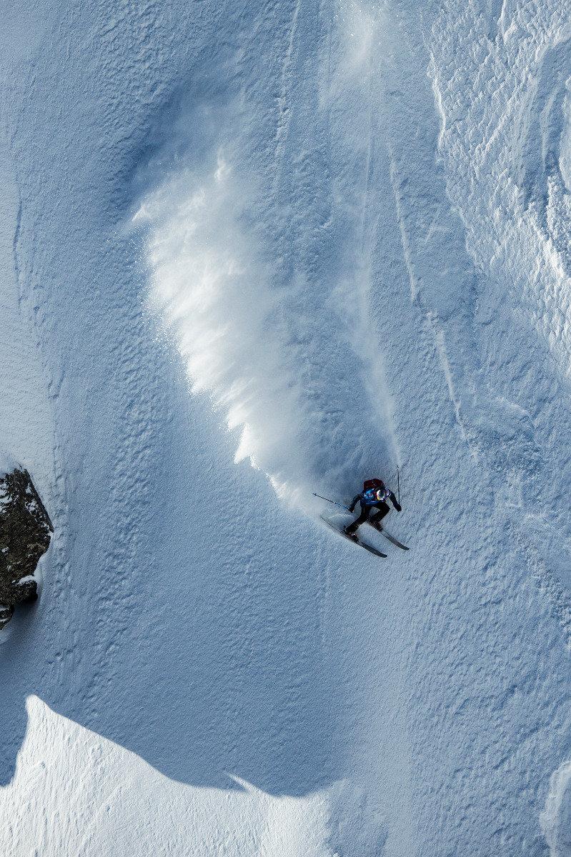 Freeride World Tour in Chamonix Mont-Blanc - © www.FreerideWorldTour.com | D. Daher