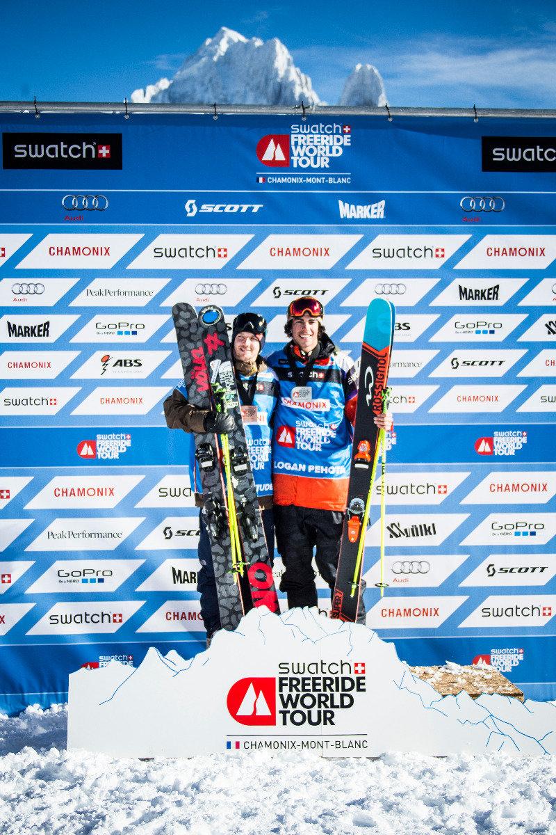 Siegerehrung Ski Herren - © www.FreerideWorldTour.com | D. Daher