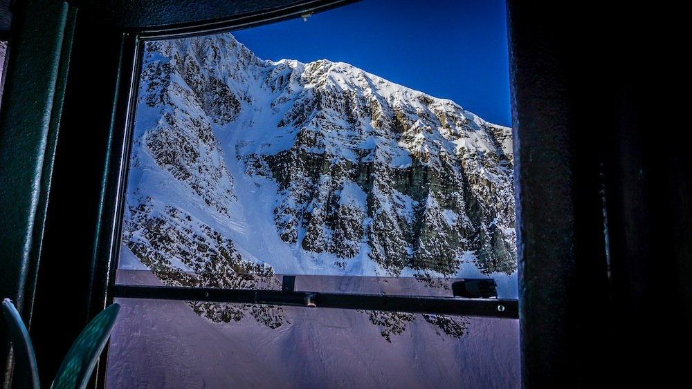 The Lone Peak Tram at Big Sky travels 2,828 feet in a matter of minutes. - © Eric Slayman