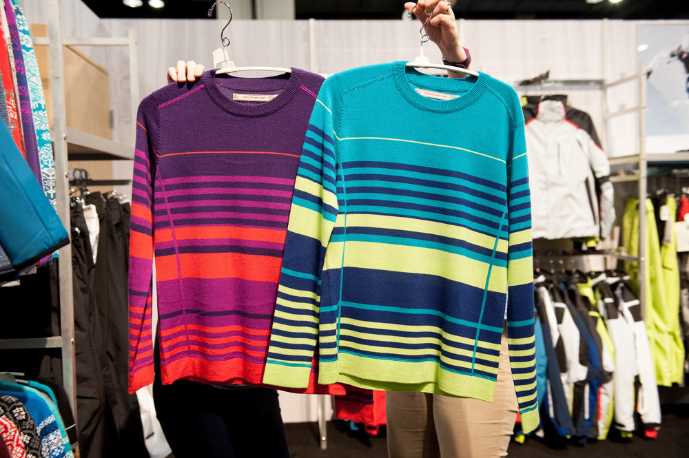 Obermeyer heritage-style sweaters in performance wool stay true to the brands' roots. - © Ashleigh Miller Photography