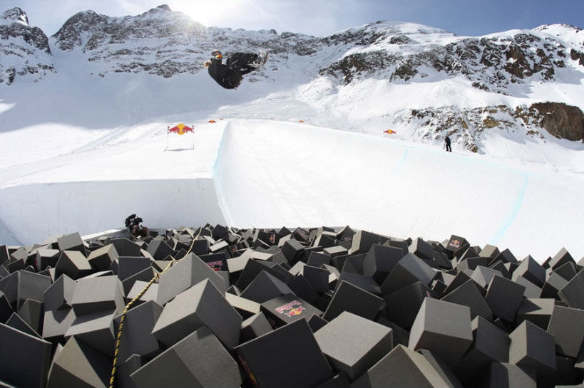 Red Bull Project X at Silverton, CO for Shaun White.