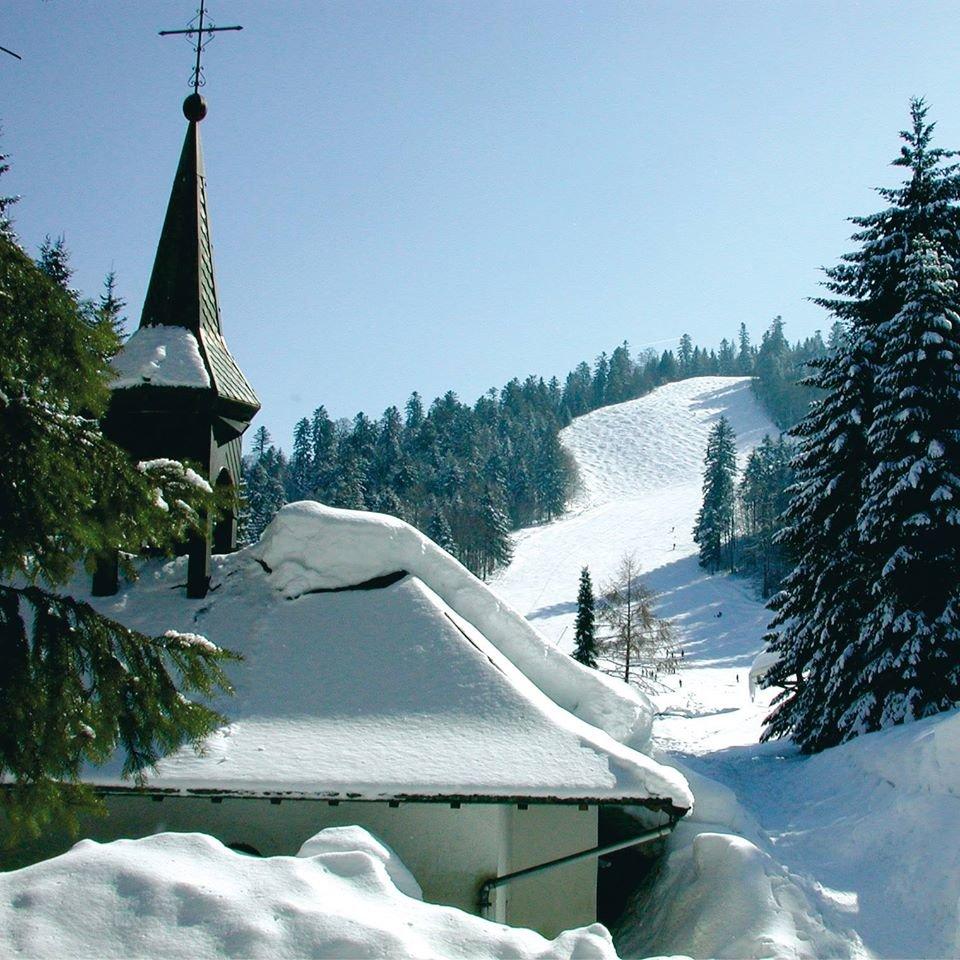 Paysage hivernal à Ventron - © Station de Ventron / Ermitage Resort