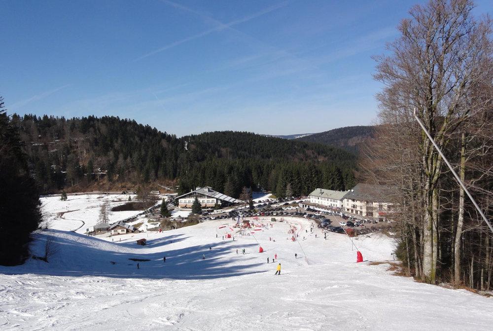 Le front de neige de Ventron - © Station de Ventron / Ermitage Resort