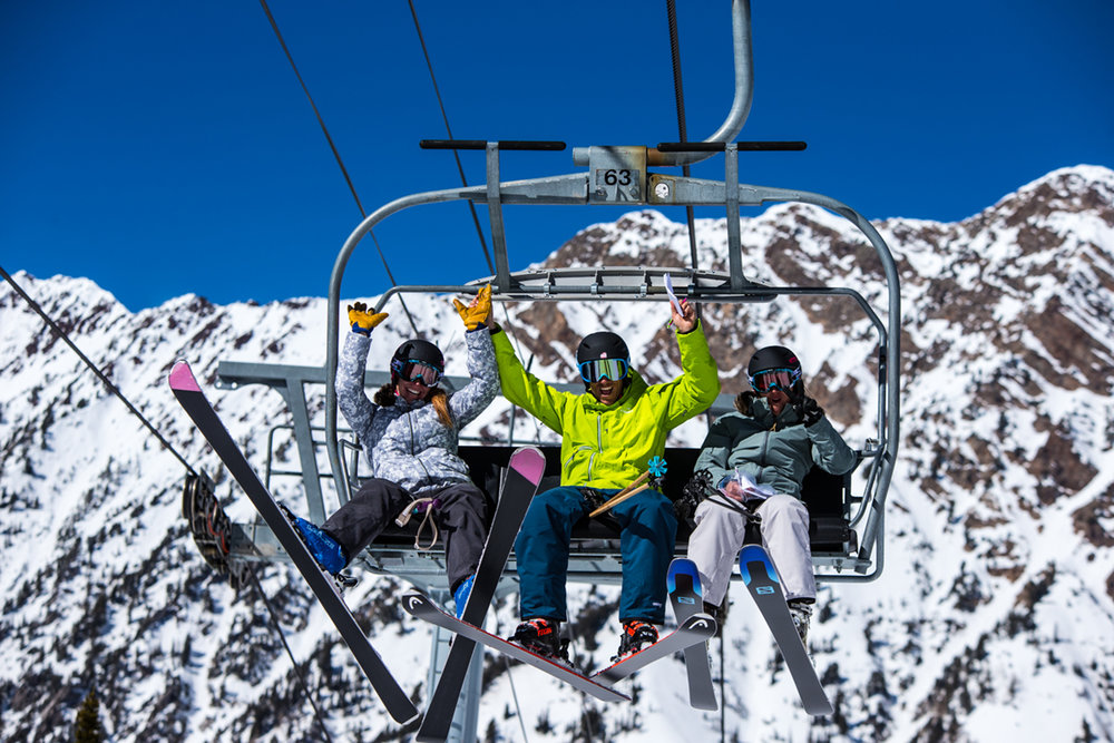 OnTheSnow Ski Test 2016: equal parts work and play. - © Liam Doran