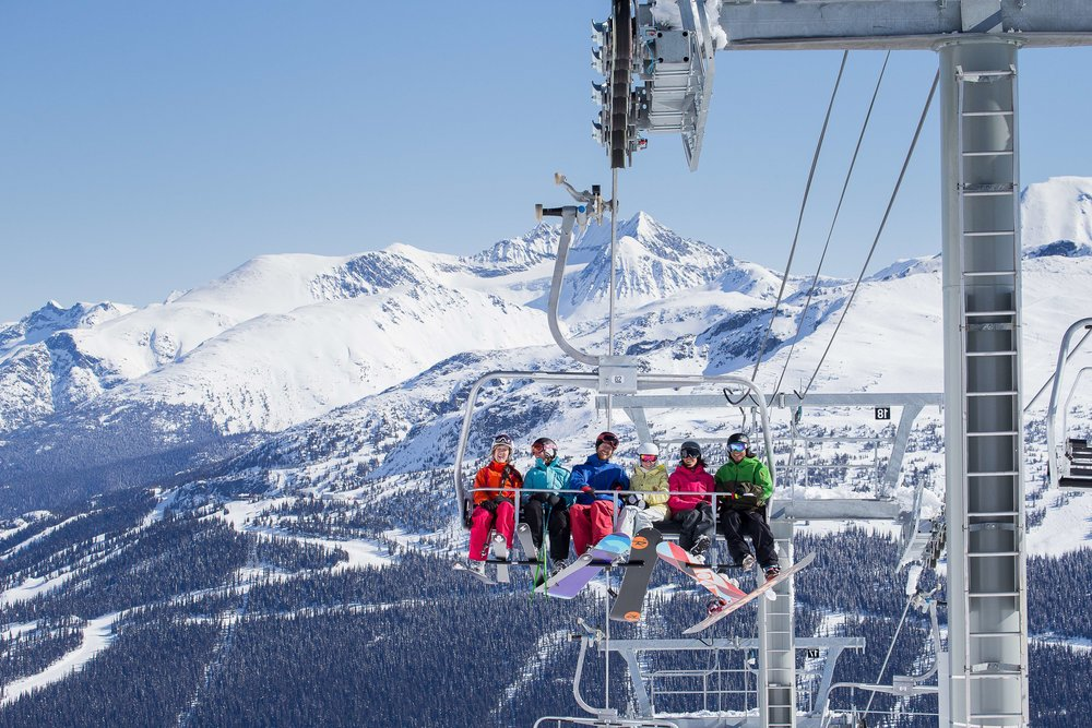 Harmony Chairlift at Whistler Blackcomb.  - © Paul Morrison/Whistler Blackcomb