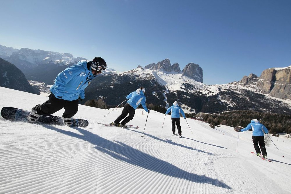 Sellaronda - © Federico Modica, Trentino Marketing Photo Archive