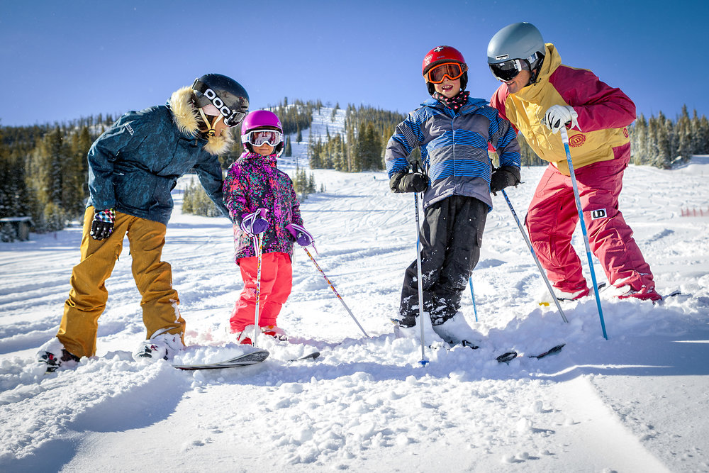 Kids can get a free season pass at Winter Park with the purchase of an adult pass. - © Winter Park