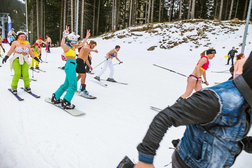 Lente-ski op zijn Slovaaks. - © TMR, a.s.