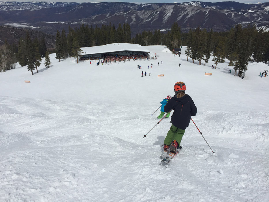 Kids rip up the bumps at Highlands during The Grand Tour. - © Krista Crabtree