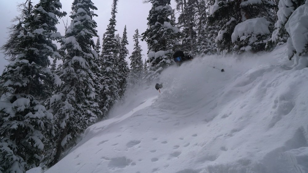 Winter Park looking bottomless after 13.5 inches overnight.  - © Winter Park Resort