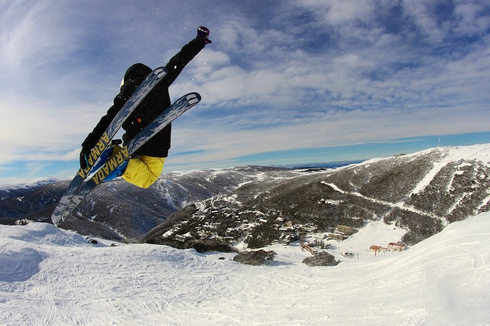 Airing it out at Falls Creek, Australia. - © Falls Creek