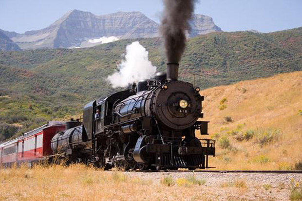 Over the past two decades, the Heber Valley Movie Train has been featured in more than 35 films. - ©Rocky Mountain Outfitters