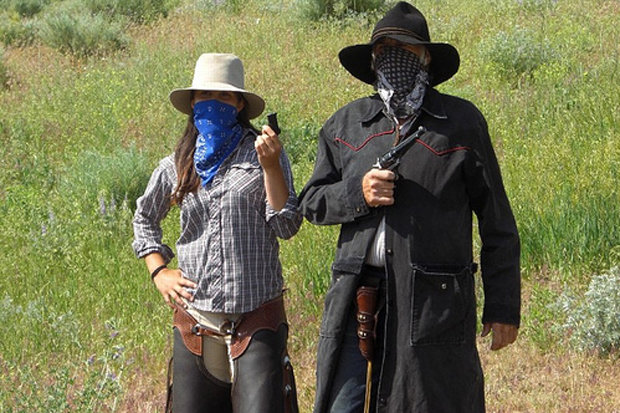 Watch out for Black Jack Raven and his Soldier Hollow Gang when you're on the trail. - ©Rocky Mountain Outfitters