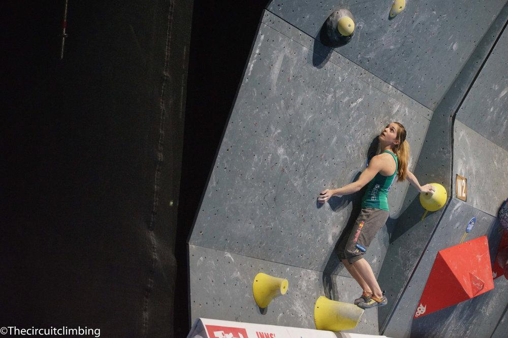Jessica Pilz (AUT) - ©IFSC | The Circuit Climbing | Eddie Fowke