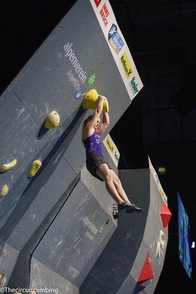 Leah Crane (GBR) - ©IFSC | The Circuit Climbing | Eddie Fowke