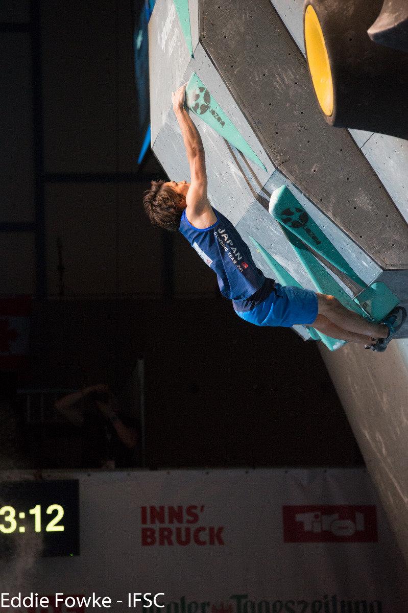 Boulder-Weltcup Innsbruck 2016 - ©IFSC | Eddie Fowke