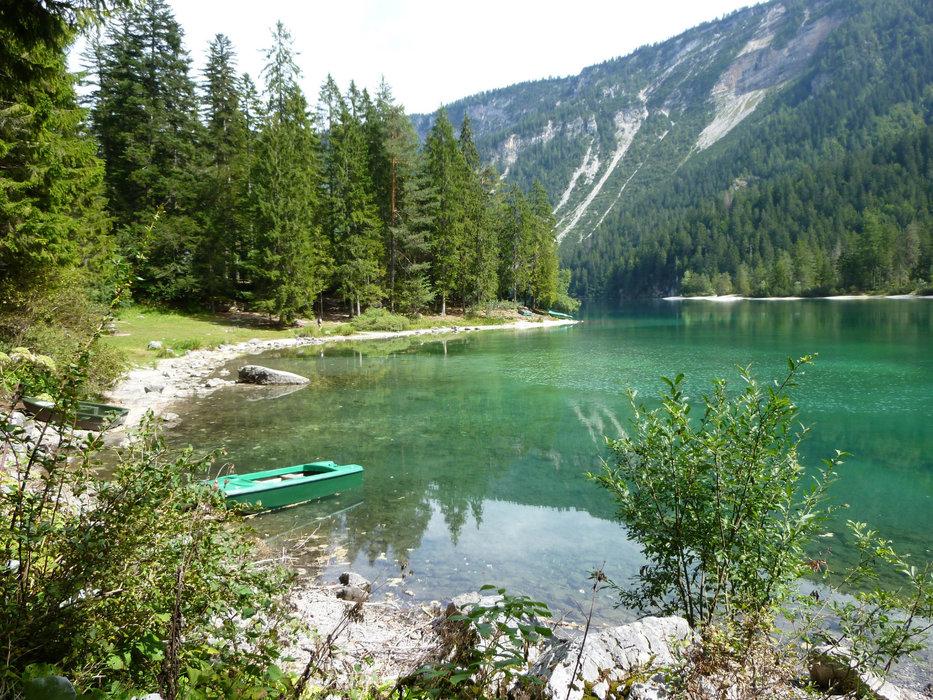 Lago di Tovel im Naturpark  Brenta Adamello  - ©Armin Herb