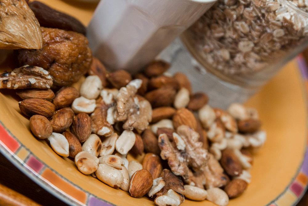 Nüsse haben einen hohen Energiewert und sind gesund - ©Erika Spengler