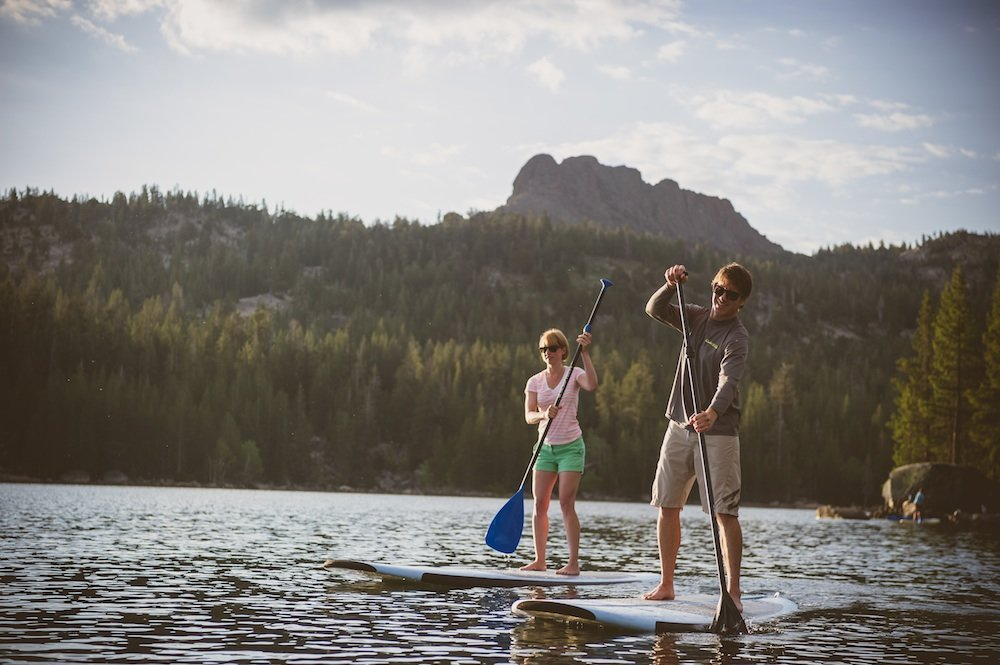 SUPing in ski country near Kirkwood Mountain Resort. - ©Kirkwood Mountain Resort