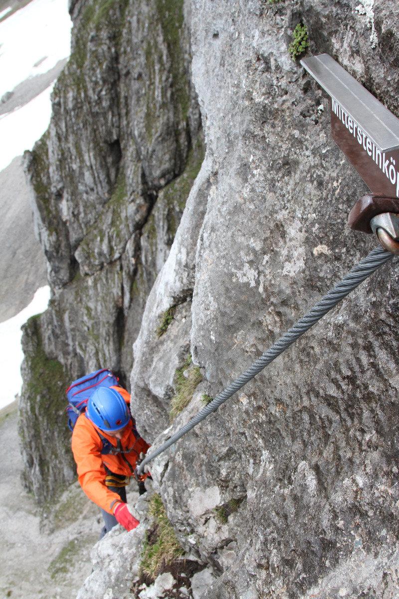 Im Anna-Klettersteig - ©Bergleben.de