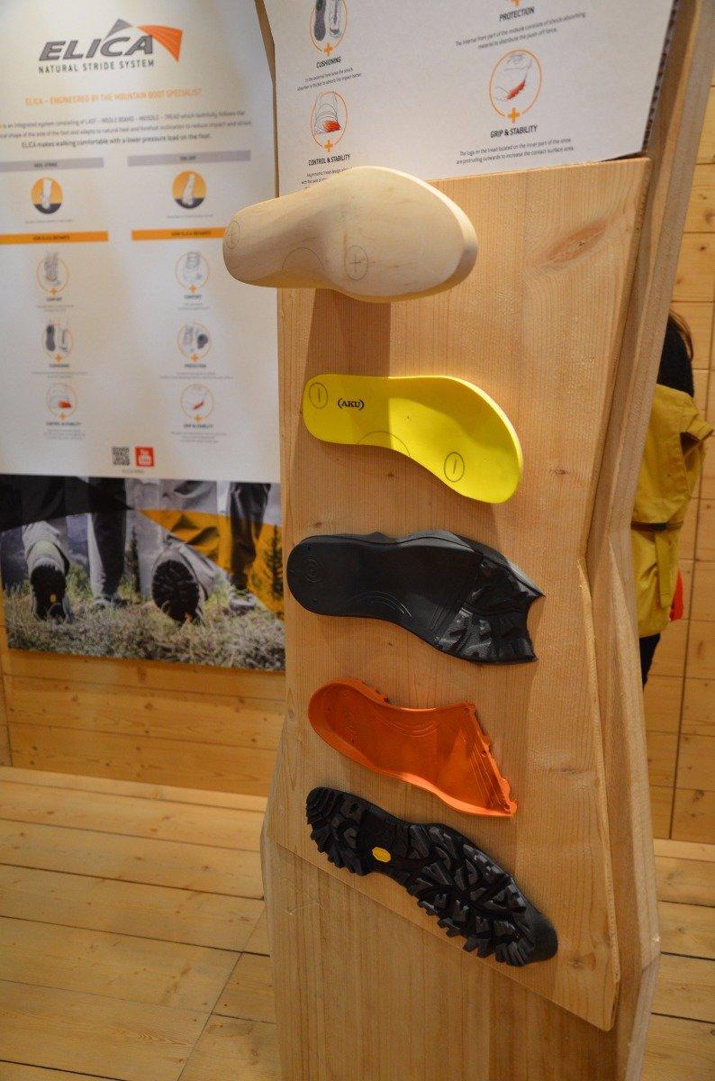 So baut sich Akus Elica Schuh auf - ©bergleben.de