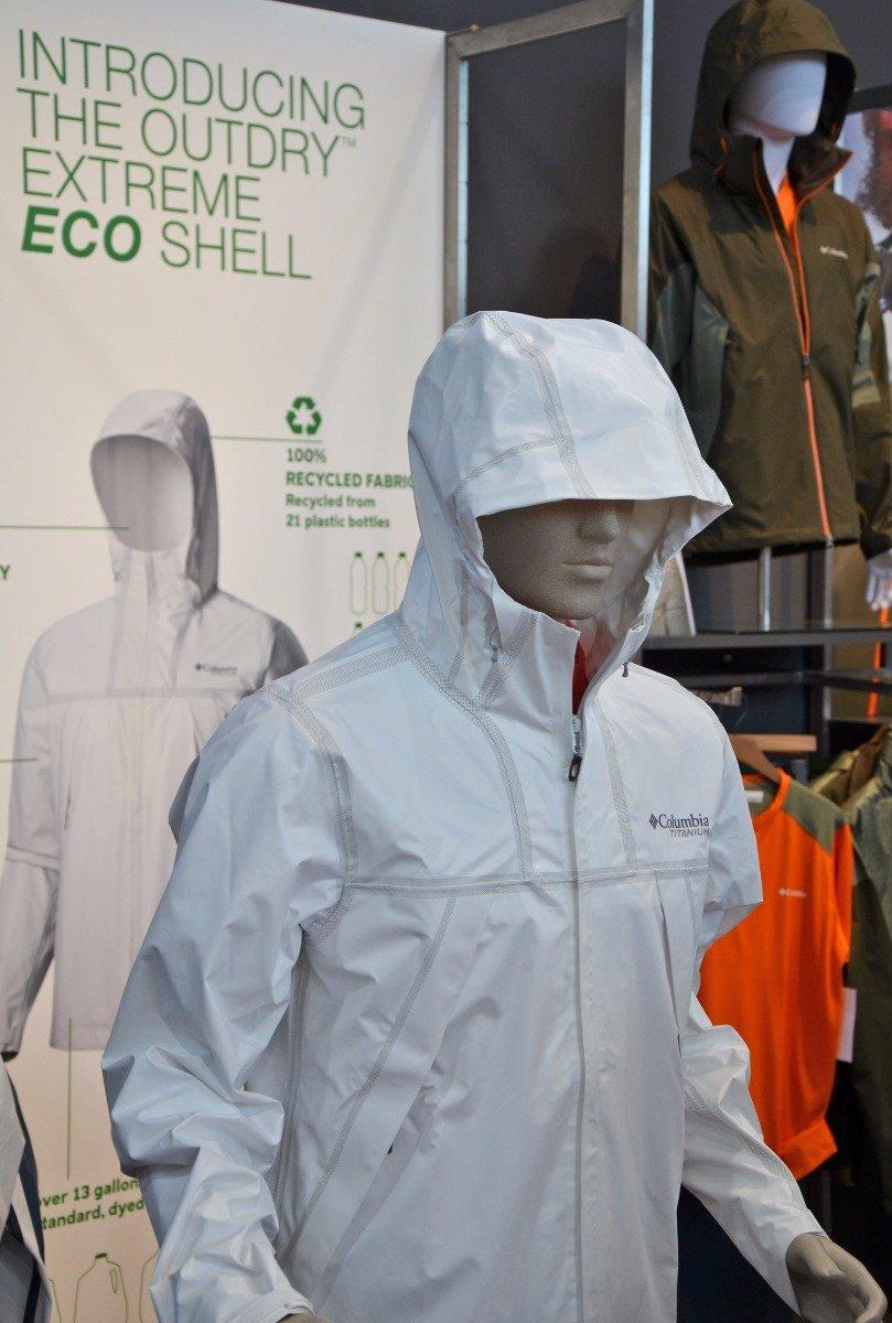 Columbia präsentierte die OutDry Extreme Eco Shell - ©bergleben.de