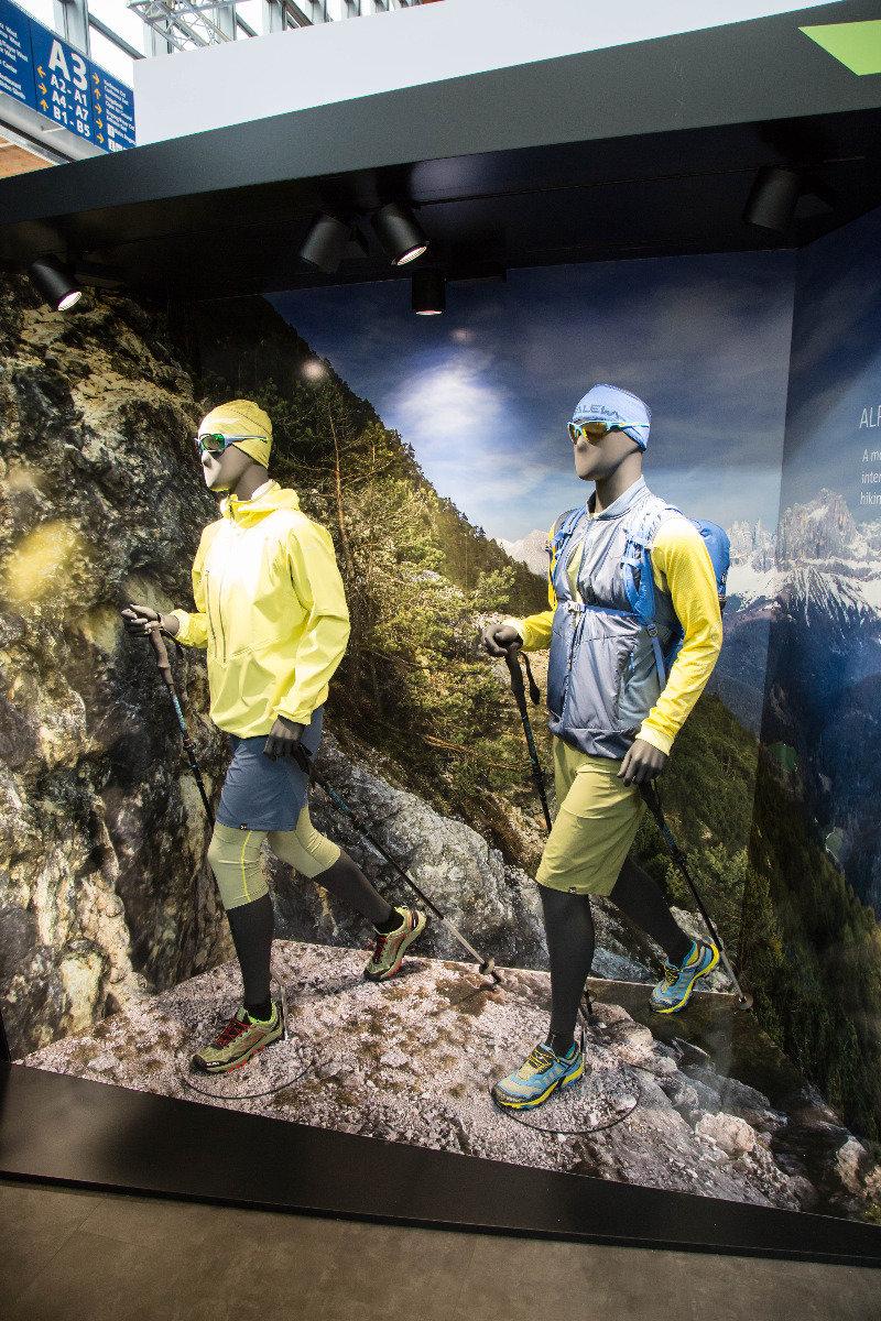 Mountain Training Kollektion bei Salewa - ©Bergleben.de
