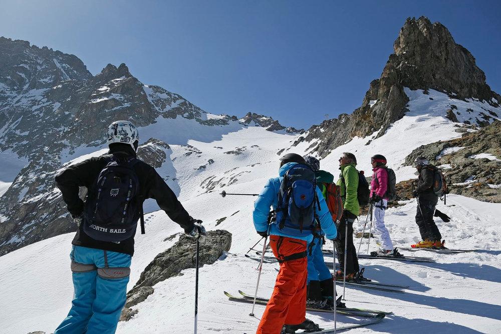 Ski dans l'immensité des Vallons de la Meije... - © OT de la Grave la Meige