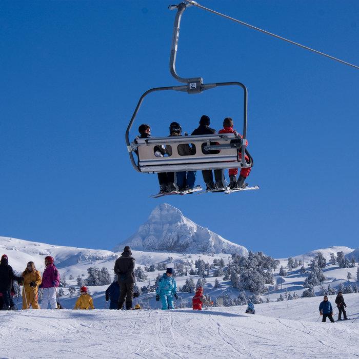 Sur le domaine skiable de la Pierre Saint Martin - © Office de Tourisme – La Pierre Saint-Martin / Vallée de Barétous