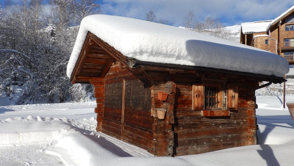 Ambiance hivernale aux Bottières - © Office de Tourisme Les Bottières