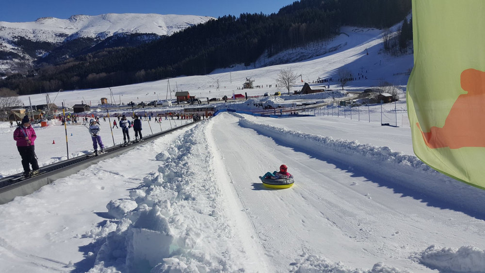 La piste de snow tubing de Gresse en Vercors - © Office de Tourisme de Gresse en Vercors