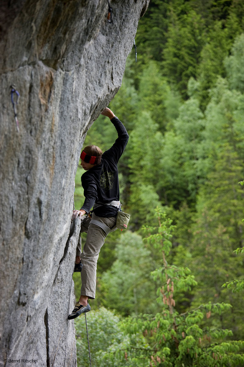 In den ewigen Jagdgründen erwartet euch ein vielfältiges Kletterangebot - © Bernd Ritschel
