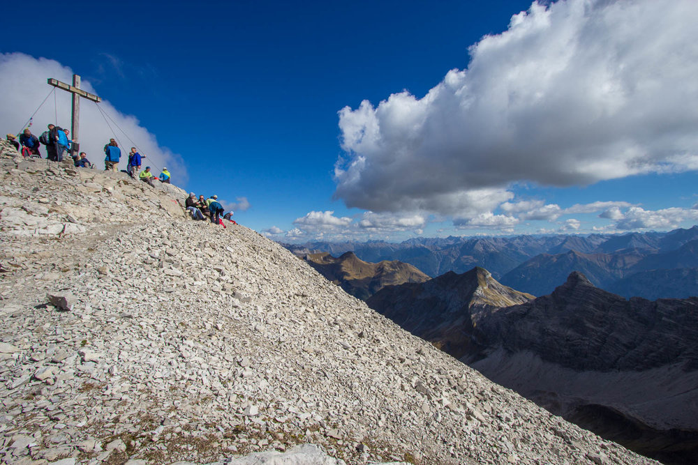 Gipfel Hohes Licht - © Erika Spengler