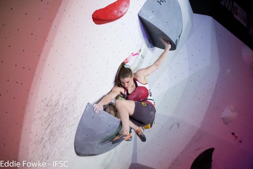 IFSC Boulder-Weltcup 2016 in Kazo (JAP) - © IFSC / Eddie Fowke